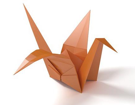 L'art de convaincre s'apprend tout comme cet origami oiseau